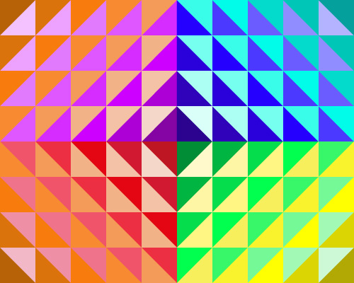 geometric colours