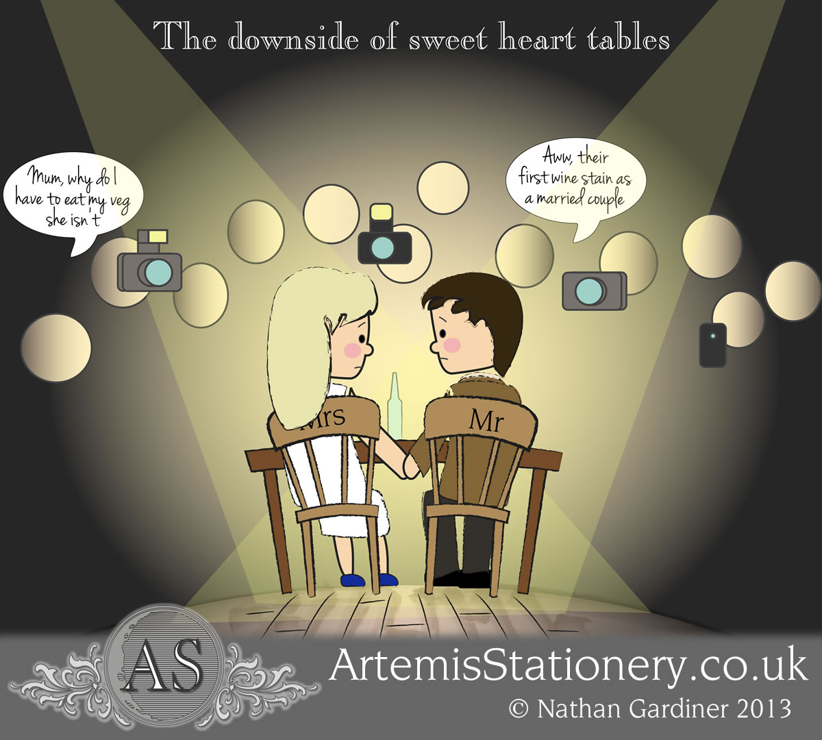 The down sides of sweet heart tables